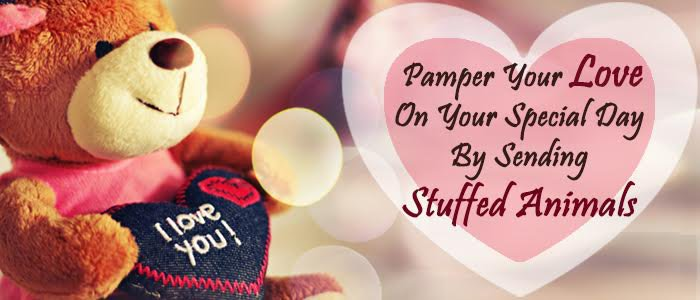 Surprise Your Love by Sending Stuffed Animals