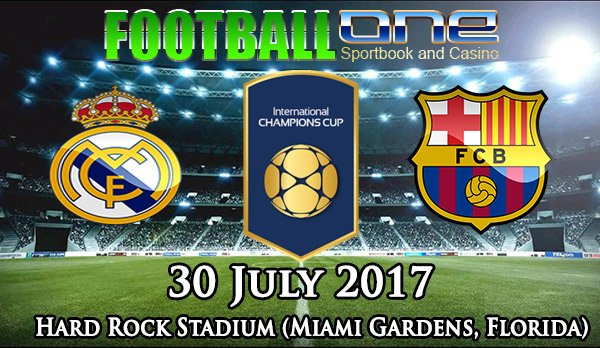 Prediksi REAL MADRID vs BARCELONA 30 July 2017