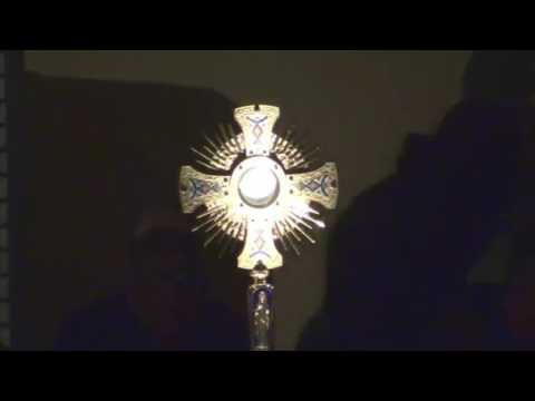 L'Adoration du 18 mars à Medjugorje