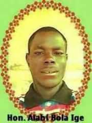 Prof Alabi Bola Ige