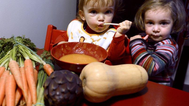 Les enfants ne reconnaissent plus les légumes