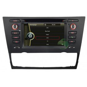 Auto DVD Player GPS Navigationssystem für BMW E91 3 Series Touring(2005 2006 2007 2008 2009 2010 2011 2012)(automatische Klimaanlage und Sitzheizung)