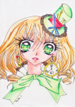「Dessin 06.」 Fanarts-reproductif xD - Alice Wonderland
