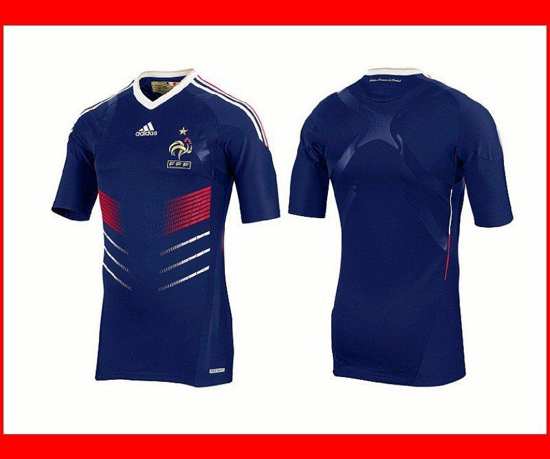 Maillot équipe de France 2010 en vente sur internet   France Express