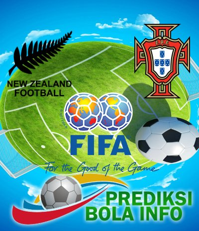 Prediksi Selandia Baru Vs Portugal 24 Juni 2017