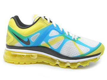 Nike Air Max 2012 Mens Lemon Twist Current Blue cheap sale
