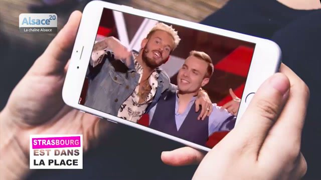 Keskispass en Alsace : le Strasbourgeois Rym cartonne à The Voice