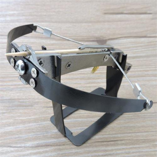 Toothpick Mini Crossbow Black/Silver