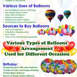 Exclusive collection of vibrant Balloons