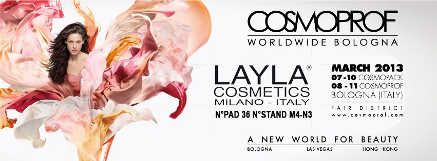 COSMOPROF 2013 BOLOGNA ITALY