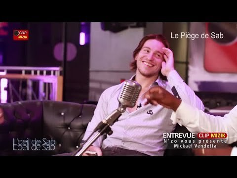 Mickaël Vendetta dans entrevue CLIP MIZIK animée par N'zo