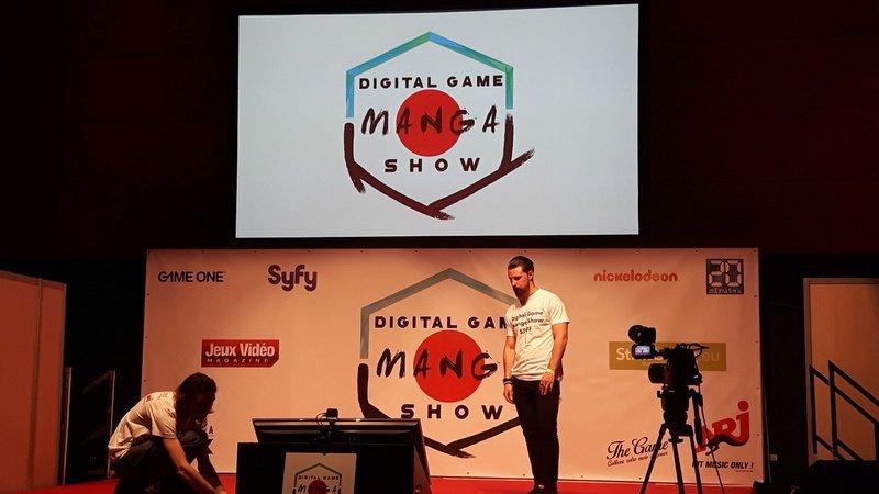 Digital Game Manga Show 2016