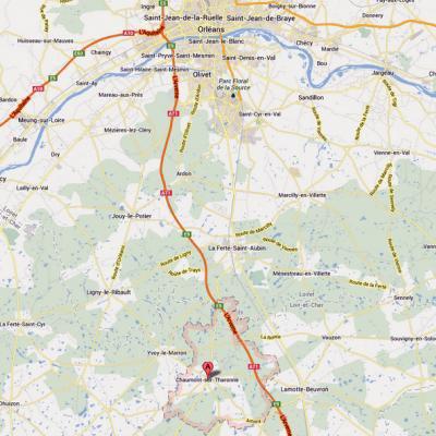 France: 10 blessés dans un accident avec un bus belge à Orléans
