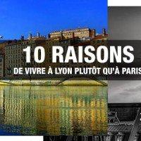 10 raisons de vivre à Lyon plutôt qu'à Paris
