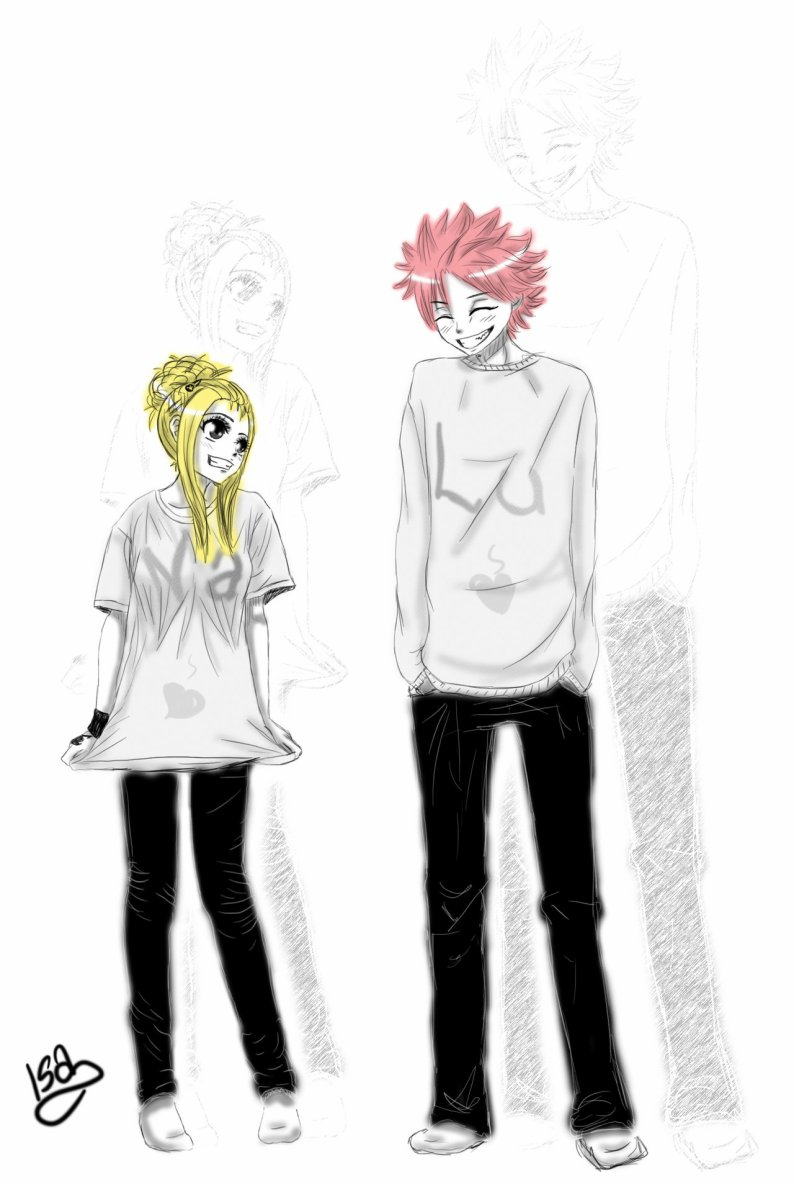 NaLu forever ! by *Zizus15 on deviantART