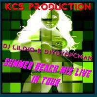 Dj Lildjo & Dj Yoyopcman - Summer Beach Mix Live In Tour