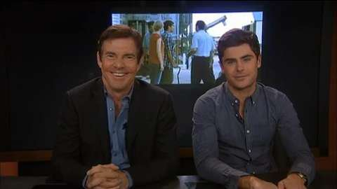 Dennis Quaid, Zac Efron talk Pittsburgh, new movie with See &...