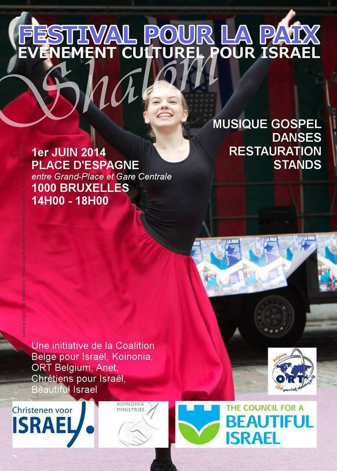 """""""Festival pour la Paix"""", l'événement culturel pour Israël à ne pas manquer ce 1er Juin 2014 ! - Last night in Orient"""