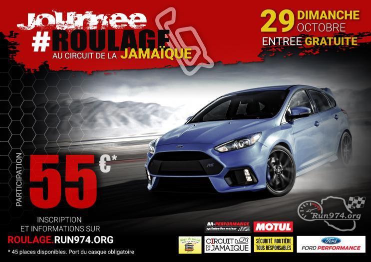 Journée roulage RUN974 dimanche 29 octobre au circuit de la Jamaïque