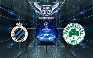 Prediksi Club Brugge vs Panathinaikos 6 Agustus 2015