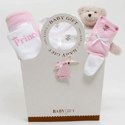 Baby girl luxury hamper