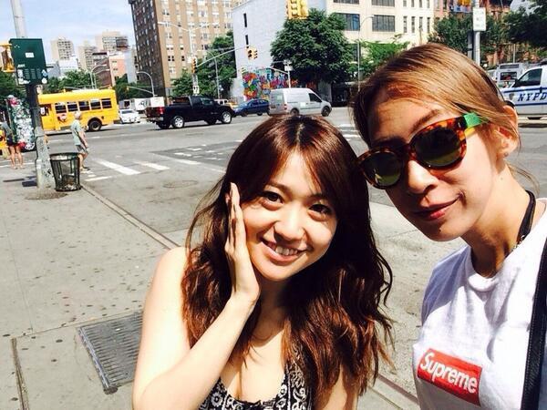 Twitter / Oshima__Yuko : NYで蜷川実花さんと会った‼︎たまたま一緒だったのー 一人旅で ...