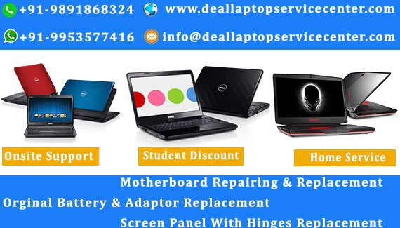 Dell Laptop Service Center in Ghaziabad | Dell Support Center