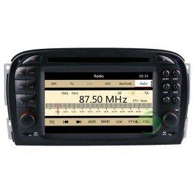Auto DVD Player GPS Navigationssystem für Mercedes-Benz SL R230(2001 2002 2003 2004.6)