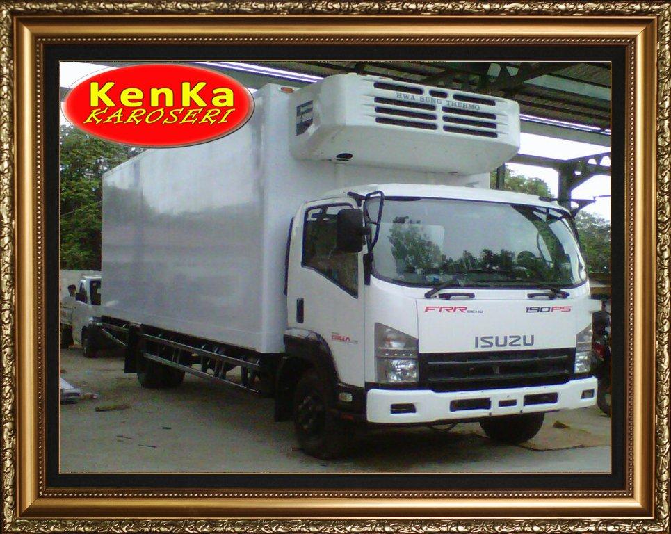 Truck Isuzu Box Pendingin – Karoseri Mobil & Truck KenKa