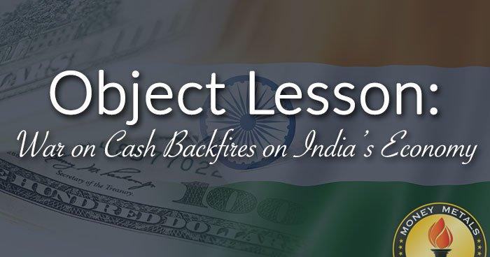 War on Cash Backfires in India