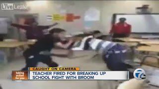 Teachers Fired For Fighting