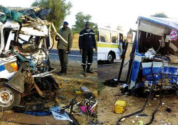 Sene 24 : L'actualité 24H/24 :Drame : 5 morts et plus de 30 blessés dans accident sur la route de Thiès