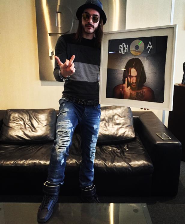"""SCH certifié disque d'or pour sa mixtape """" A7 """""""