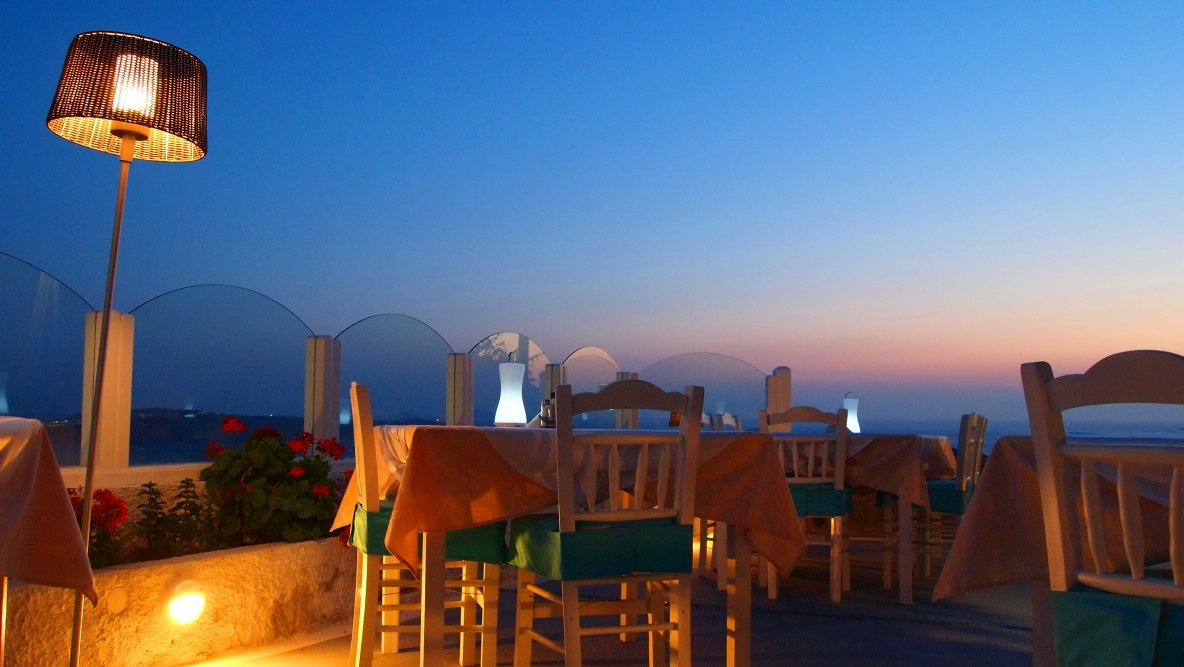 Best Restaurant at Santorini Island in Greece