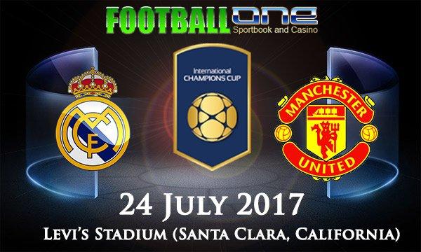 Prediksi REAL MADRID vs MANCHESTER UNITED 24 July 2017