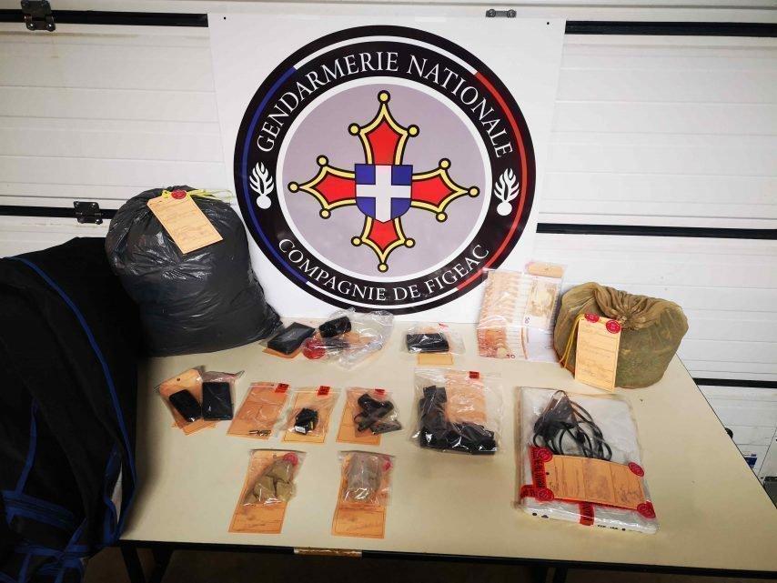 Saisies de drogues à Saint-Céré dans le nord du Lot : deux trafiquants en prison