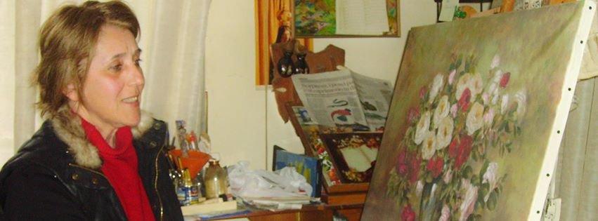 Pittura artistica in Studiocon pagine d'arte,disegno,pittura,restauro e Max pittura,