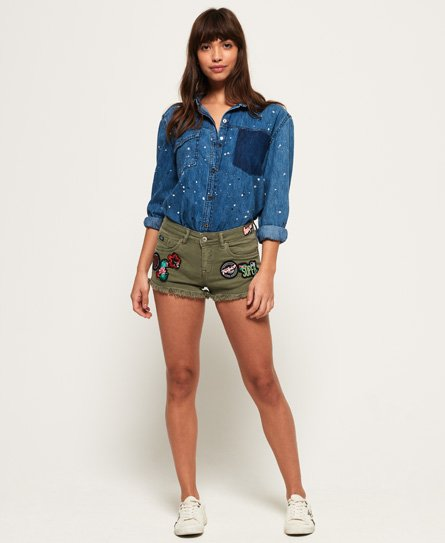 Superdry - Mini short en denim - €59,95