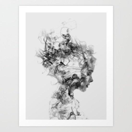 Dissolve Me Art Print by Dániel Taylor | Society6