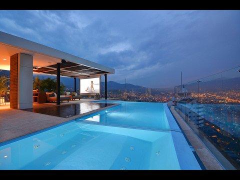 Vidéo promotionnelle pour un incroyable penthouse à Medellin en Colombie. - LNO