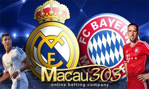 Prediksi Judi Bola Real Madrid vs Bayern Munchen 19 April 2017