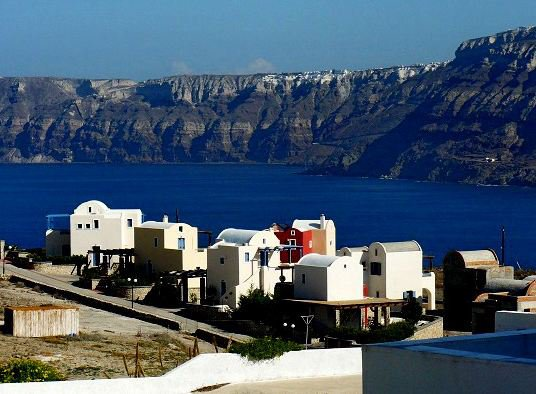 L'île de Santorin en Grèce - Santorini Island in Greece