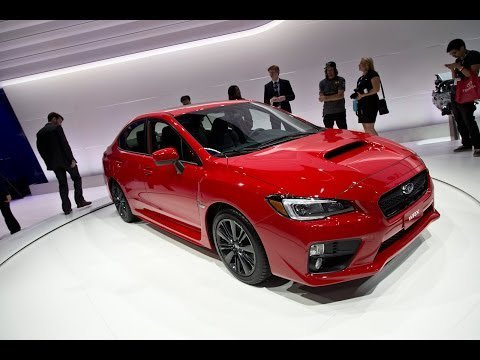 2015 Subaru WRX Unveiled: 2013 Los Angeles Auto Show