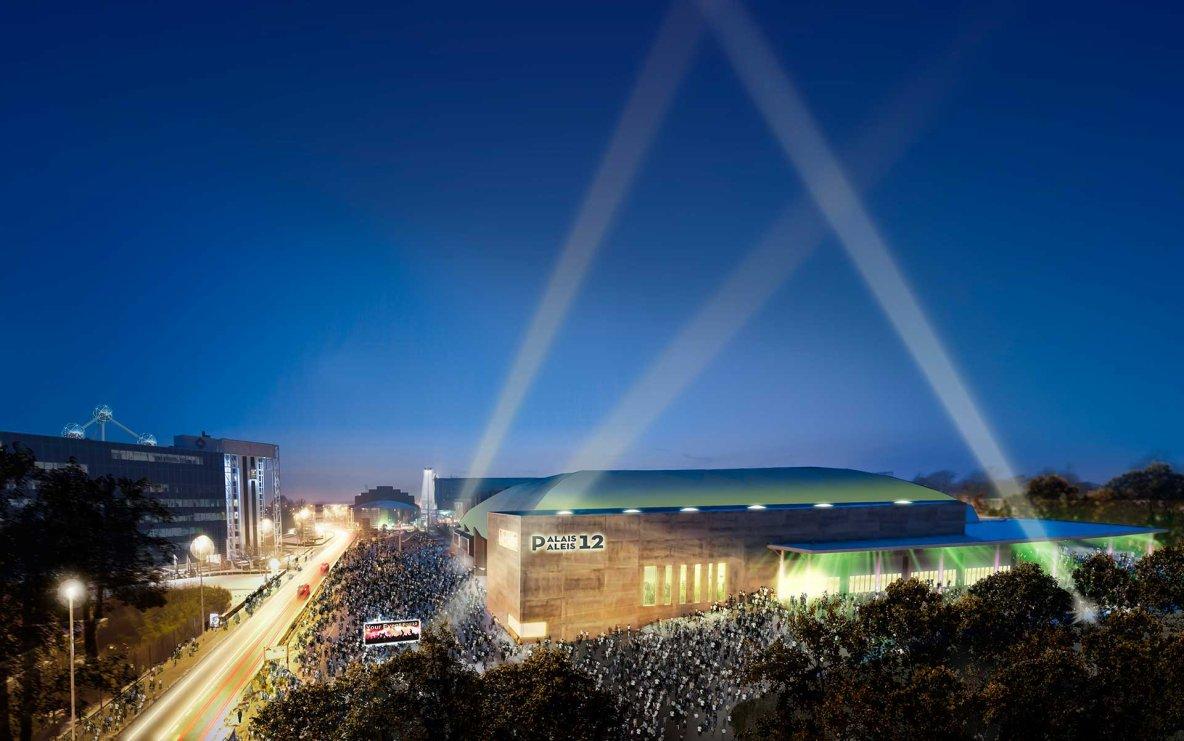 PALAIS 12 à Bruxelles deviendra l'une des plus grandes salles de spectacles européennes