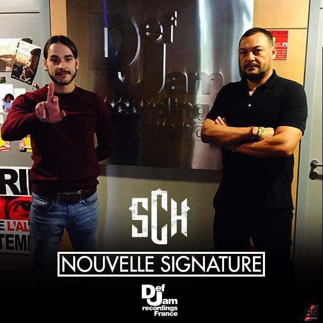 Nouvelle signature chez DeF Jam Recording France : SCH
