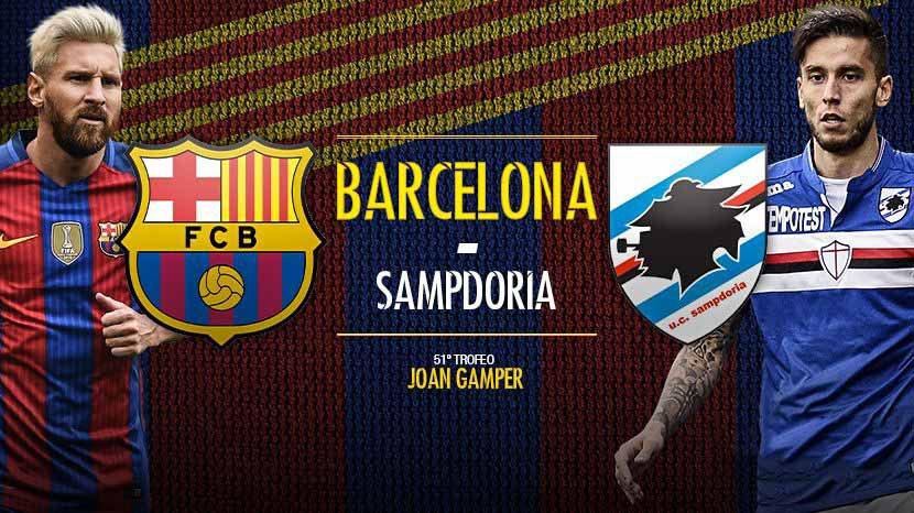 Prediksi Barcelona Vs Chapocoense 08 Agustus 2017 | 99 Bola
