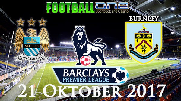 Prediksi MANCHESTER CITY vs BURNLEY 21 Oktober 2017