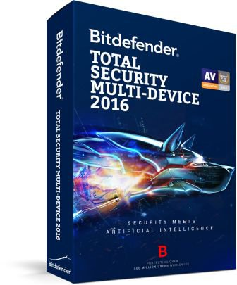 Bitdefender Total Security 2016 Multi-Device Crack