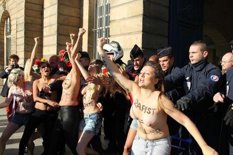 Femen: «En France, la victime d'un viol est perçue comme coupable»