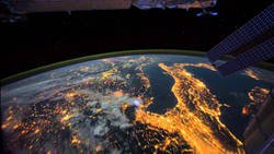 La Station Spatiale Internationale a filmé ce qu'il se passe sur Terre durant la nuit